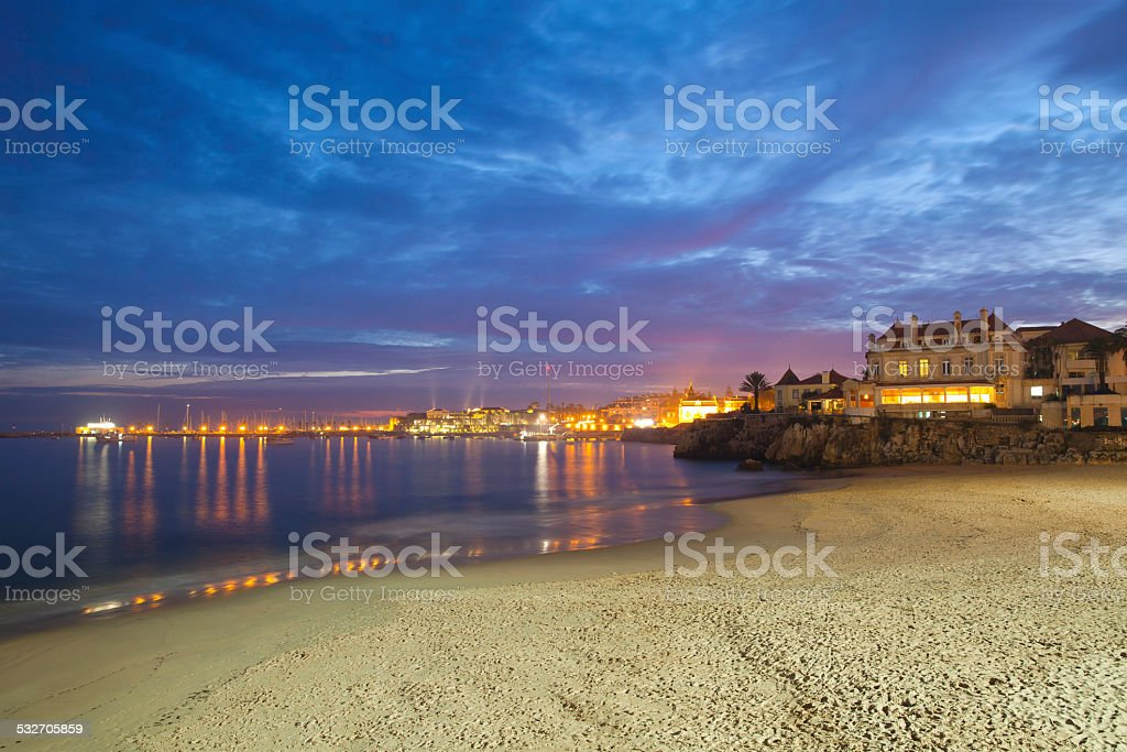 Estoril and Cascais, Portugal stock photo