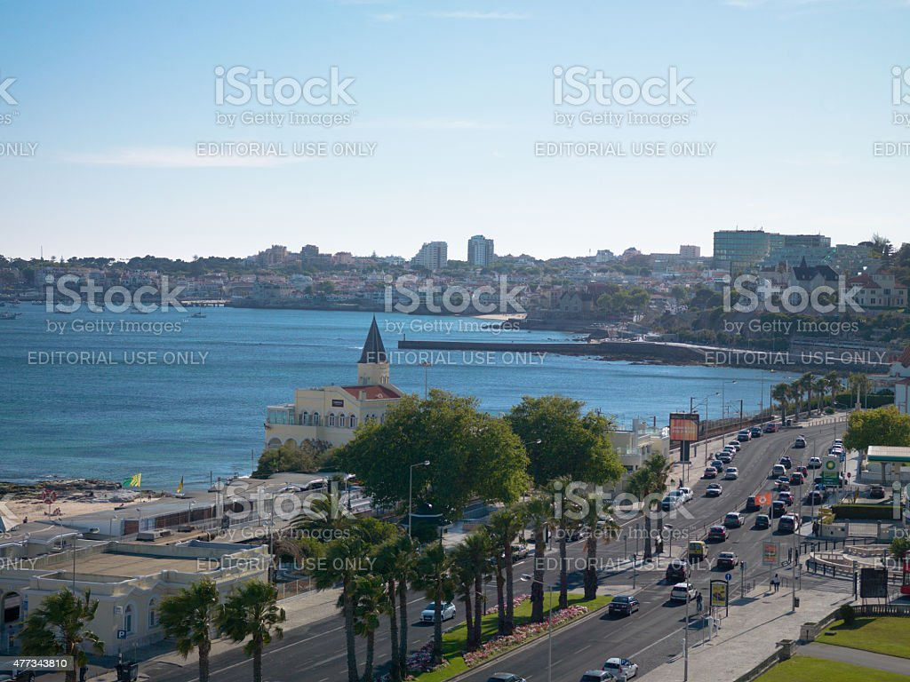 Estoril Bay - Portugal stock photo