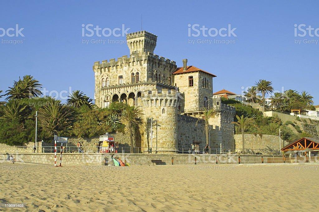 Estoril castle stock photo