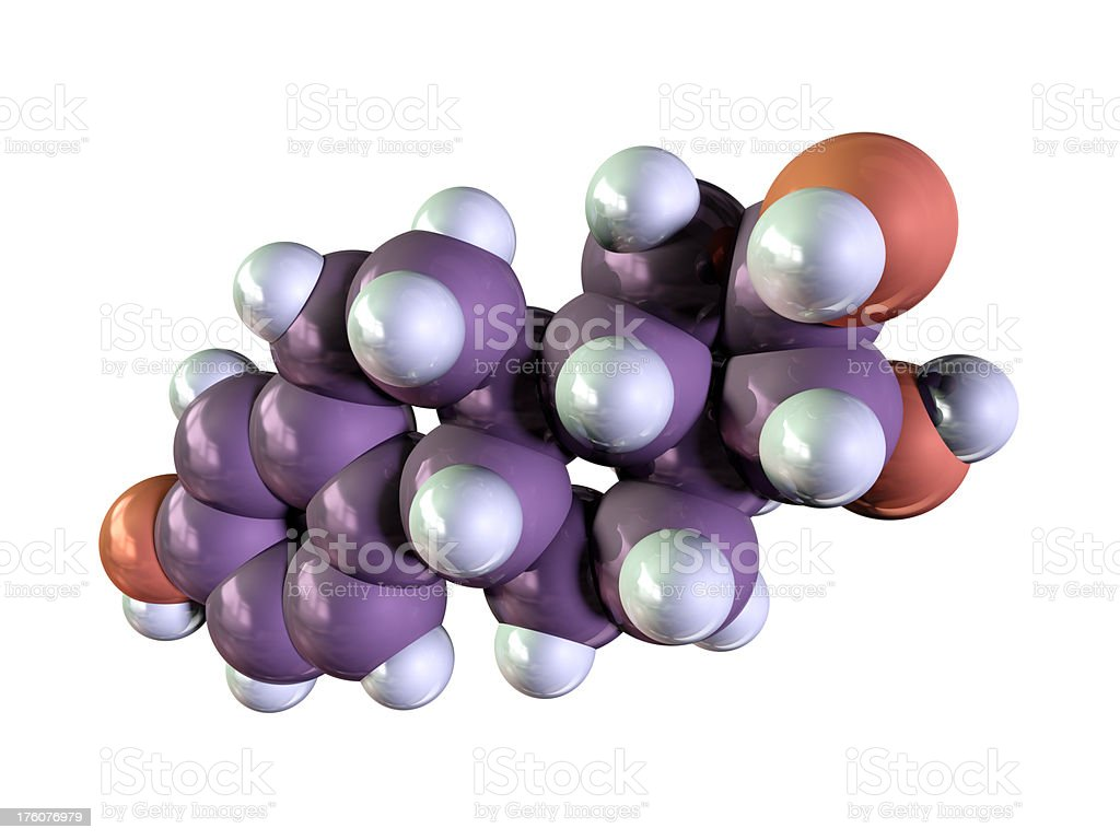 Estrogen - Estriol stock photo