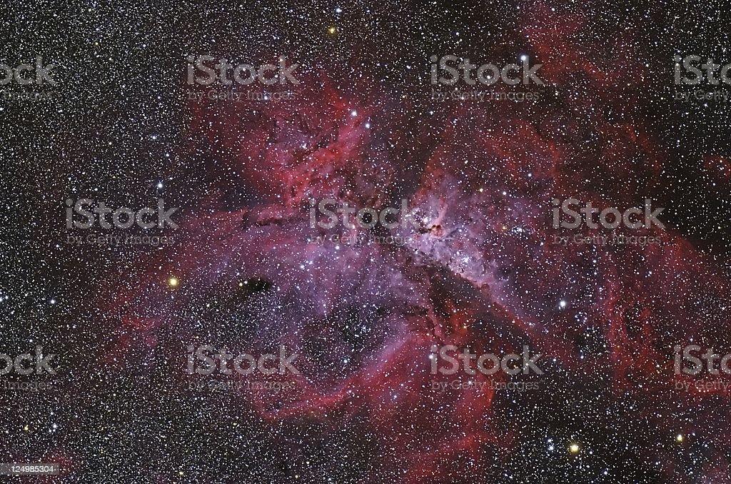 Eta Carinae Nebula royalty-free stock photo