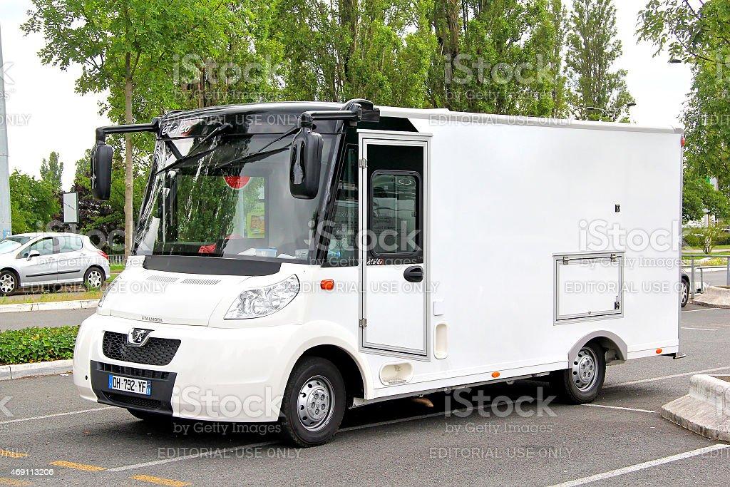 Etalmobil Etaleo stock photo