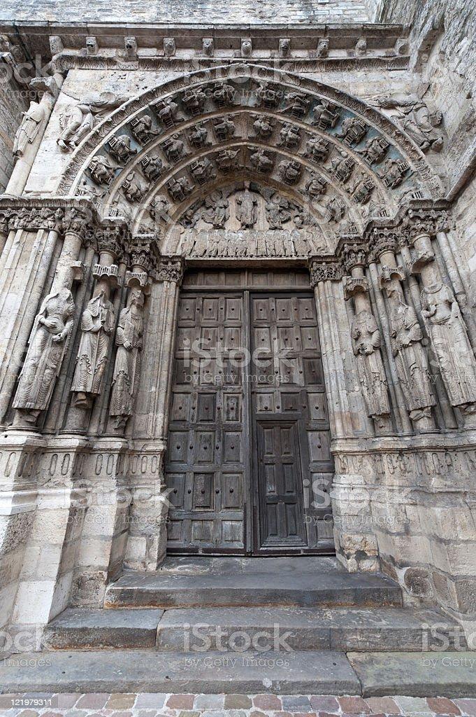 Etampes - Church royalty-free stock photo