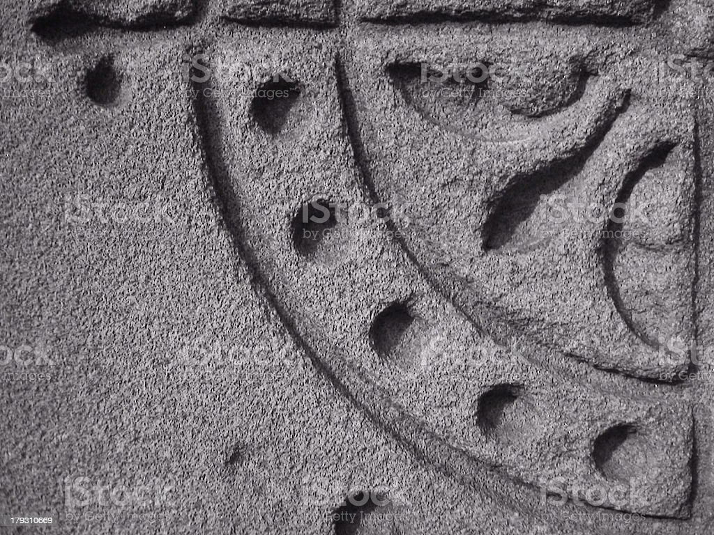 Etched in Stone royalty-free stock photo