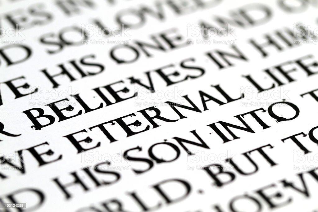 Eternal Life royalty-free stock photo