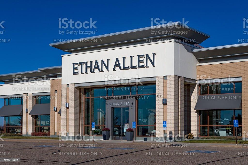 Woodbury, United States - November 13, 2016: Ethan Allen store...