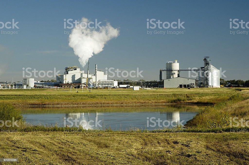 Ethanol 10 stock photo