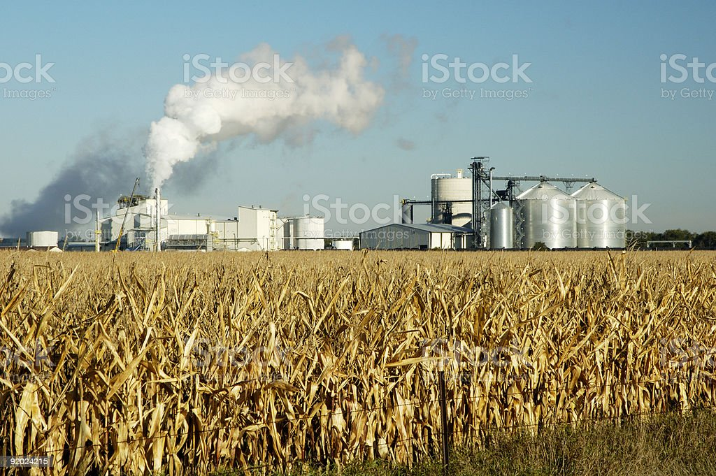 Ethanol 3 stock photo