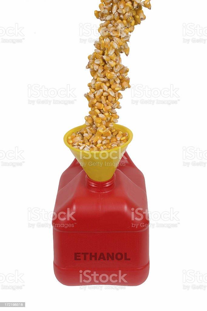 Ethanol Fuel royalty-free stock photo