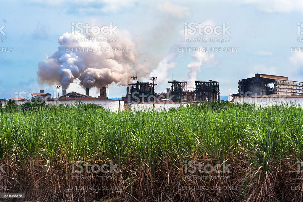 Ethanol Manufacturing stock photo