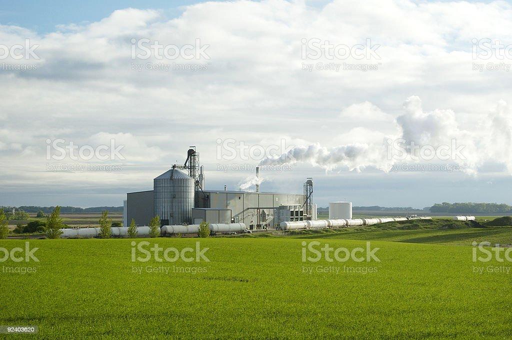Ethanol Plant 2 stock photo
