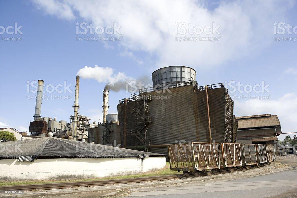 Ethanol Production Plant stock photo