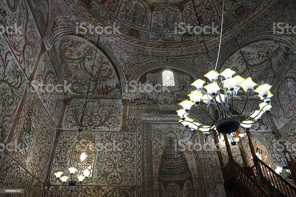 Et'hem Bey Mosque in Tirana, Albania stock photo
