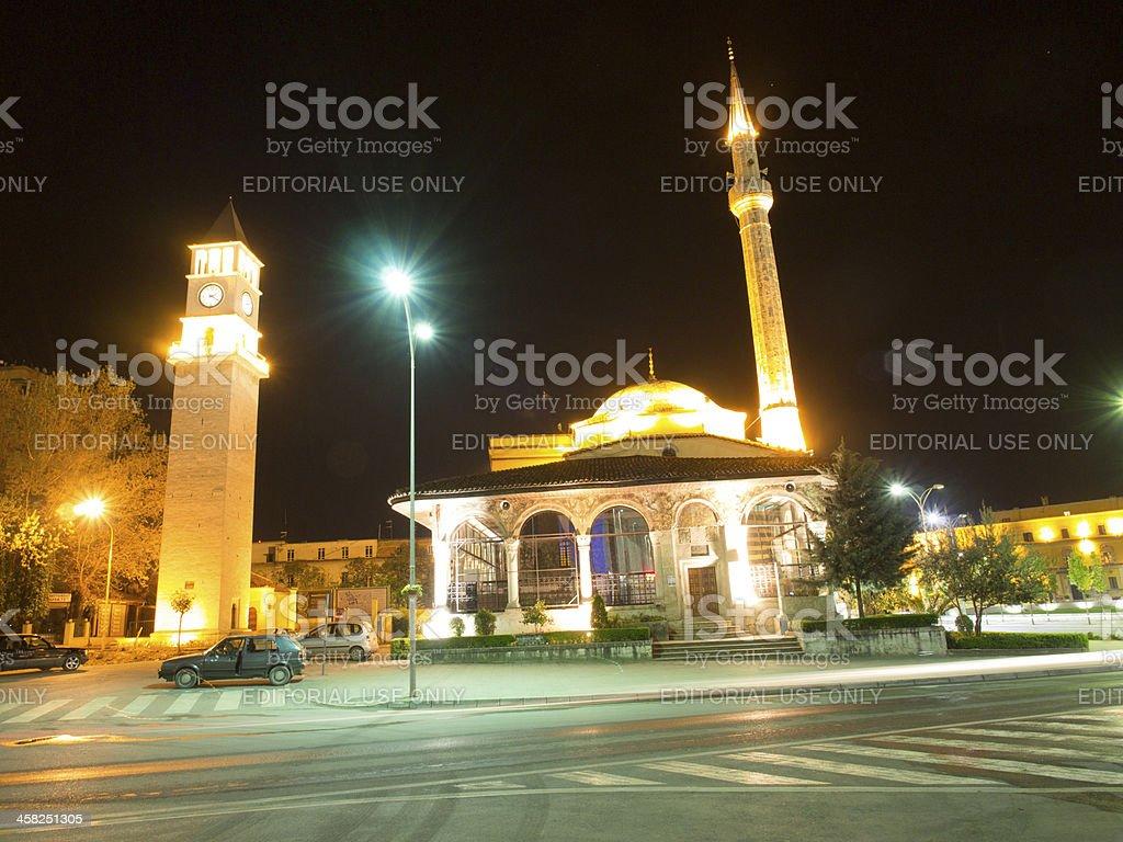 Ethem Bey Mosque Tirana royalty-free stock photo