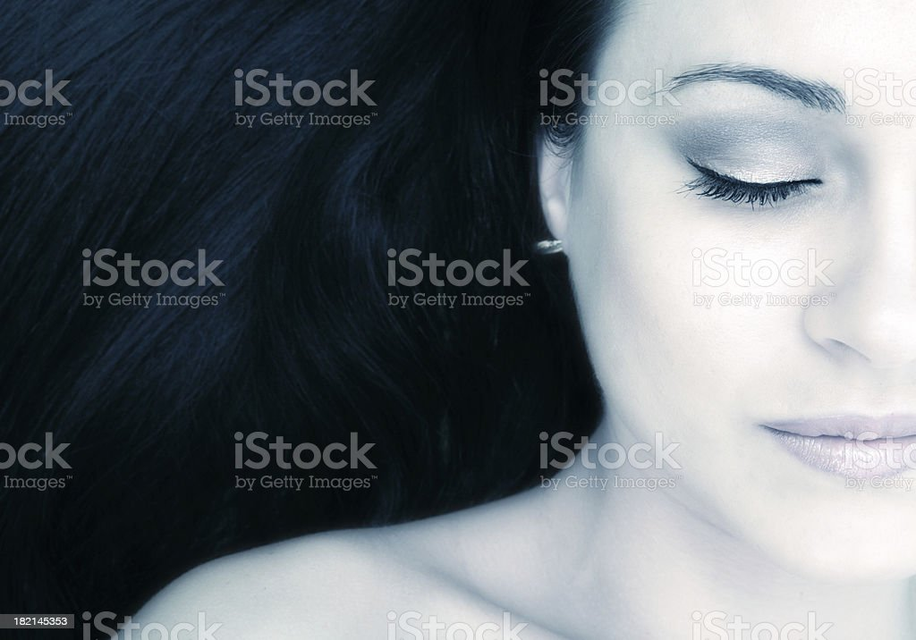 Etheral Beauty royalty-free stock photo