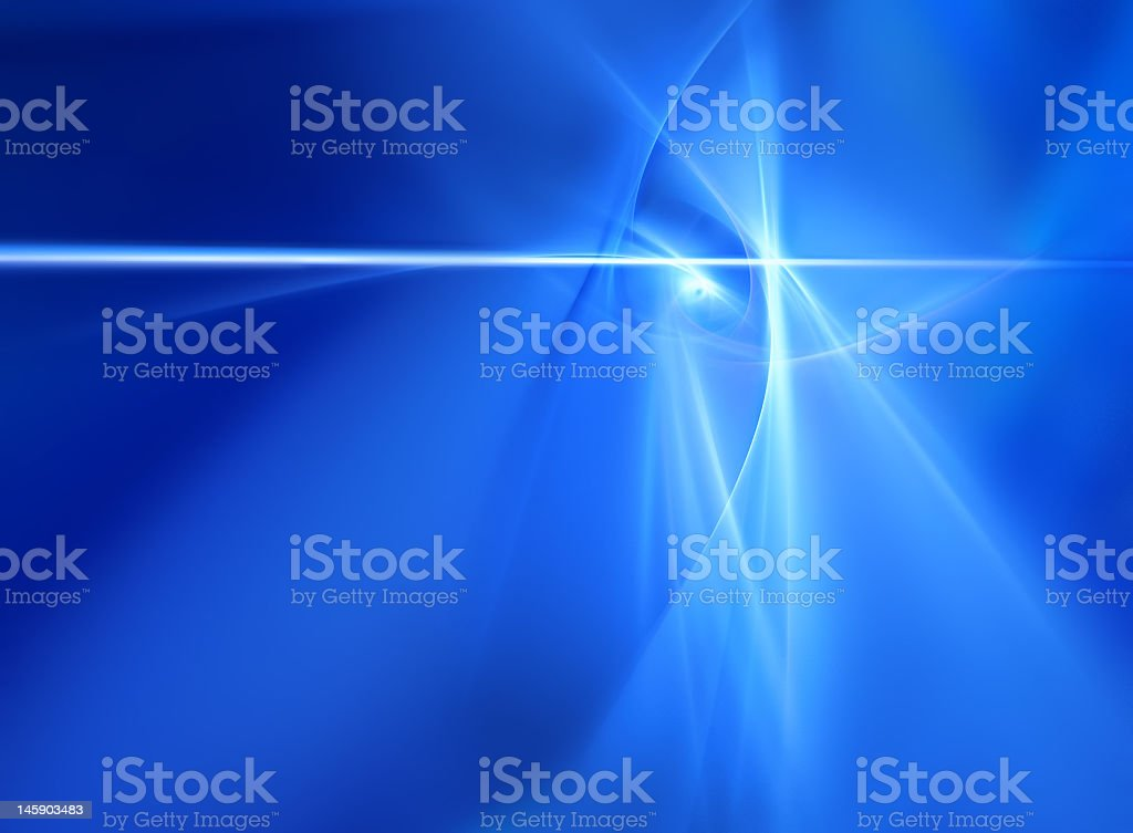 Ethereal Blue Abstract royalty-free stock photo