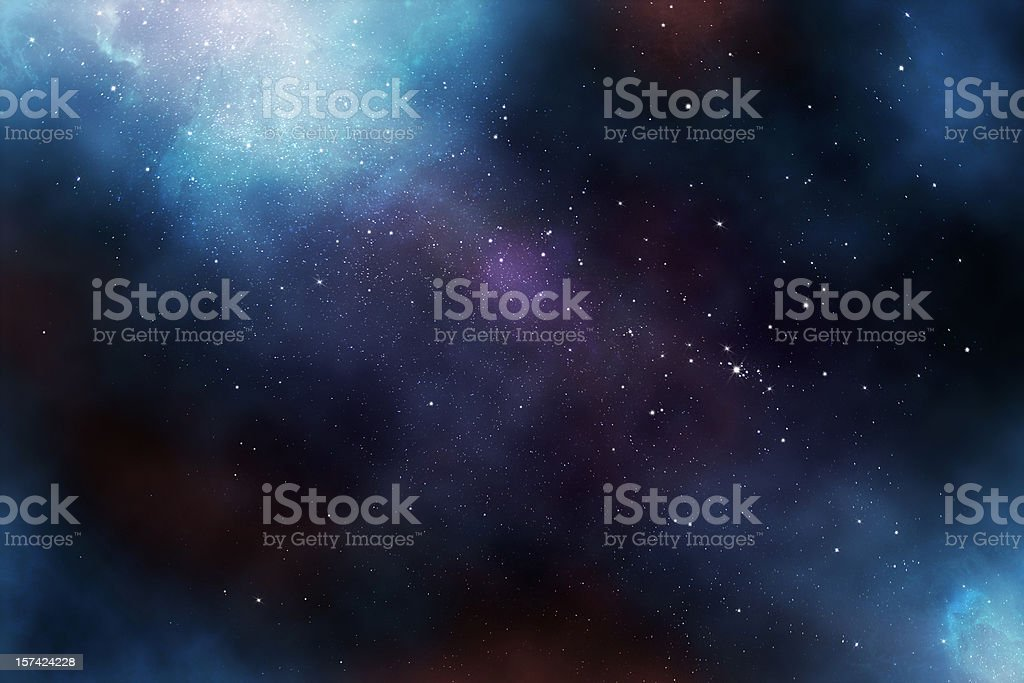 Etherial Image of the Heavens stock photo