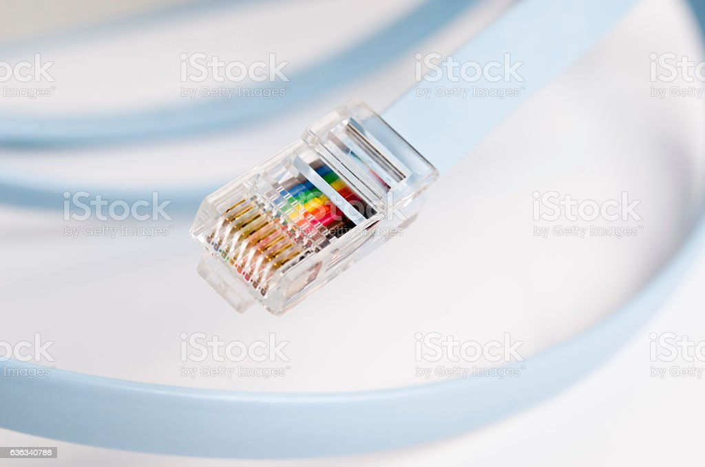 Ethernet Cable stock photo