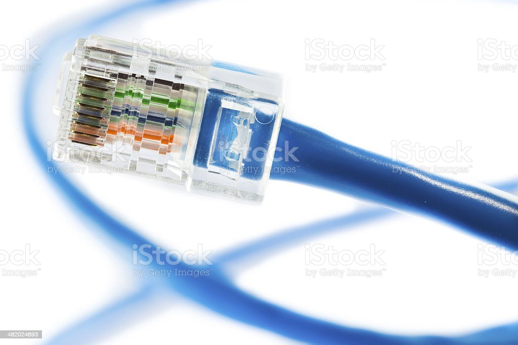 Ethernet Line stock photo