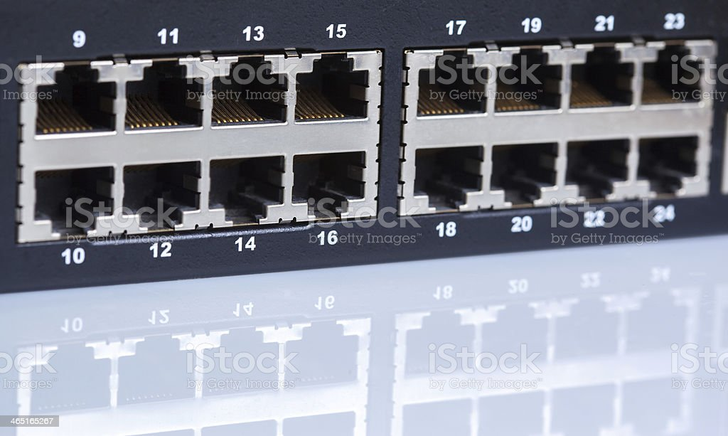 Ethernet switch royalty-free stock photo