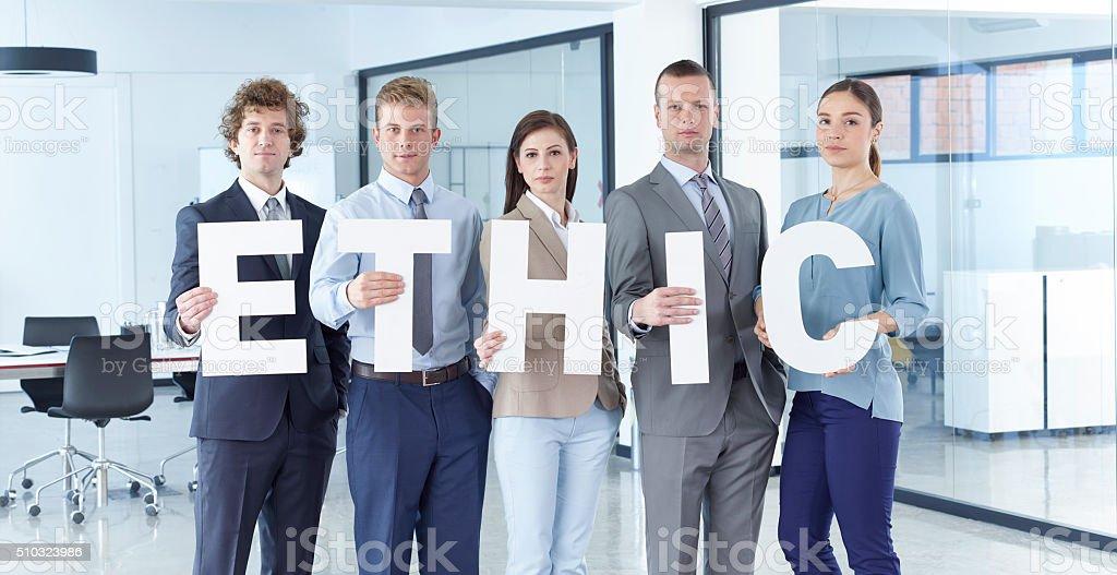 Ethic stock photo