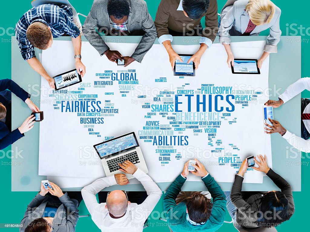 Ethics Ideals Principles Morals Standards Concept stock photo