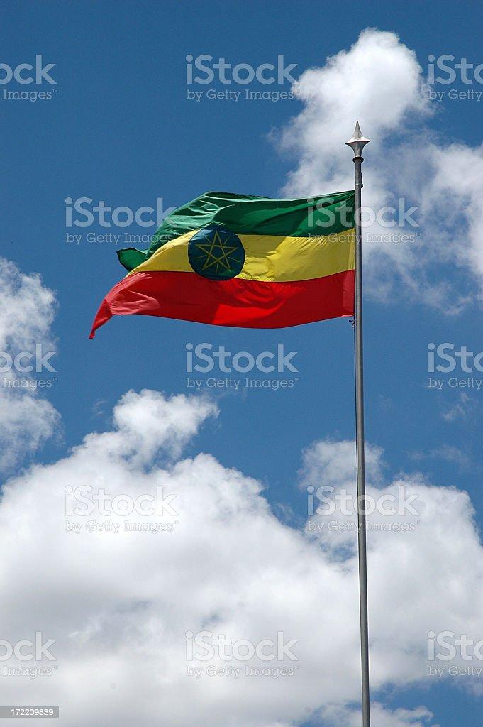 ethiopean flag royalty-free stock photo