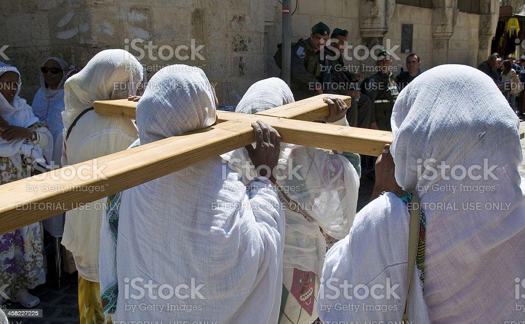 エチオピア聖金曜日 ロイヤリティフリーストックフォト