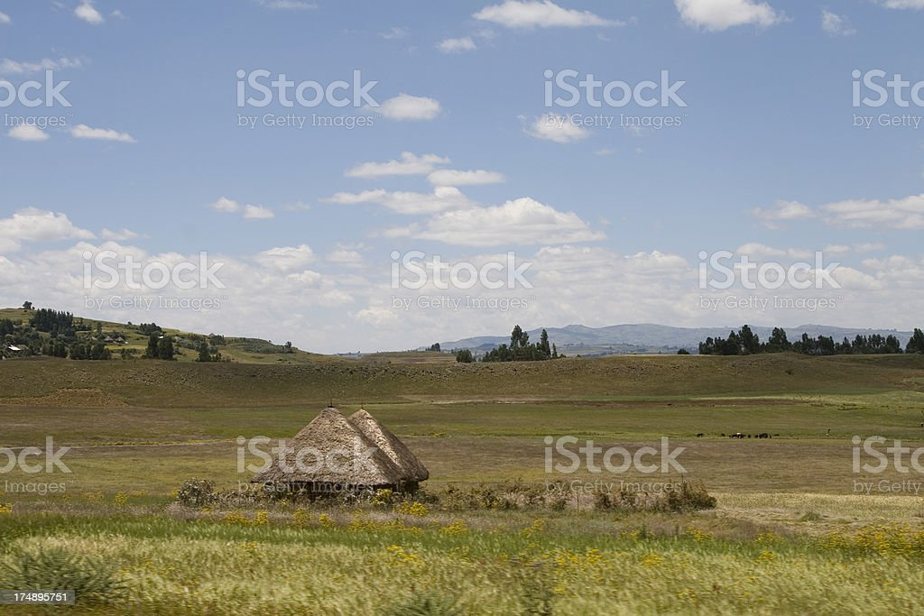 Ethiopian Landscape royalty-free stock photo