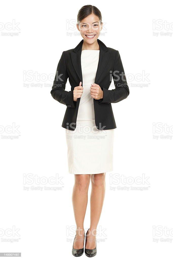 Ethnic Asian professional businesswoman stock photo