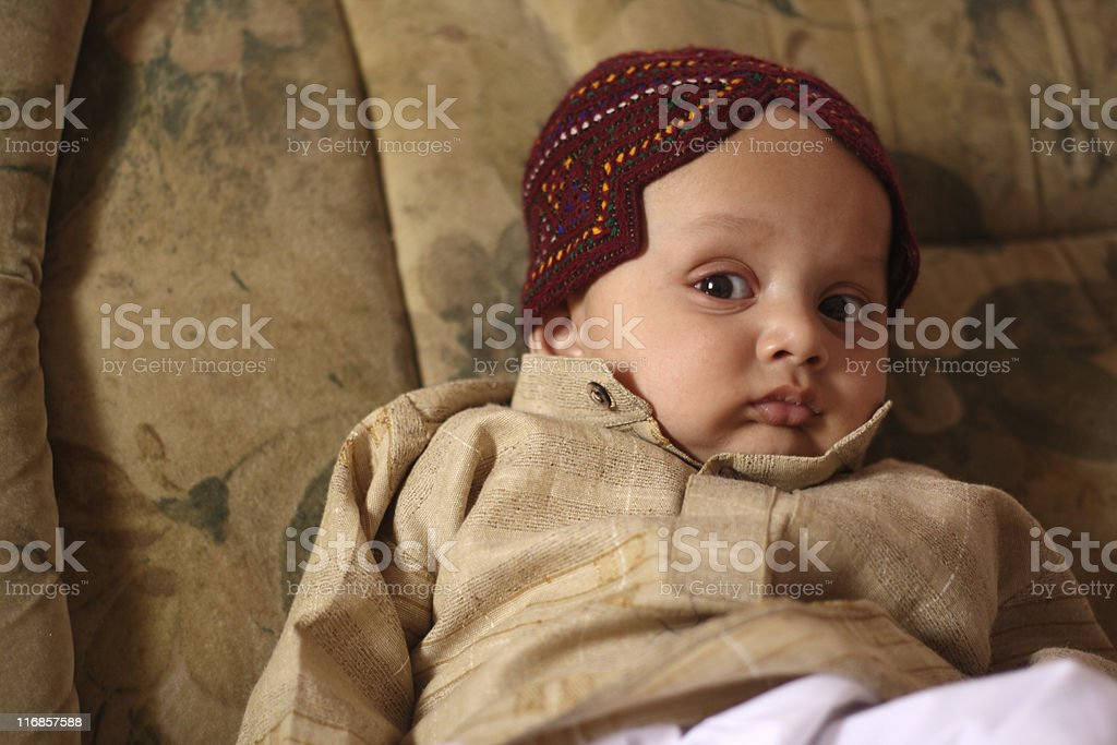 Ethnic Baby royalty-free stock photo