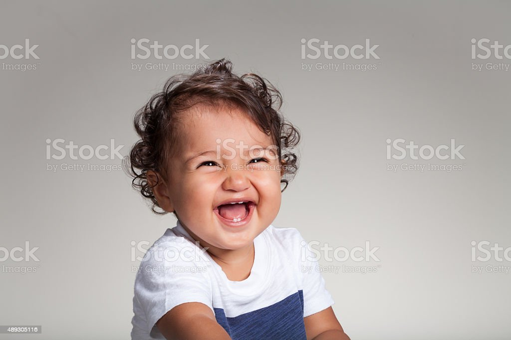 Ethnic Baby stock photo