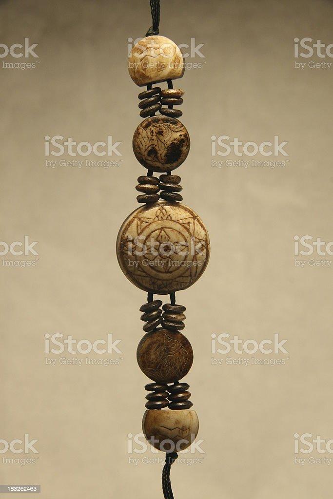 ethnic bracelet detail royalty-free stock photo