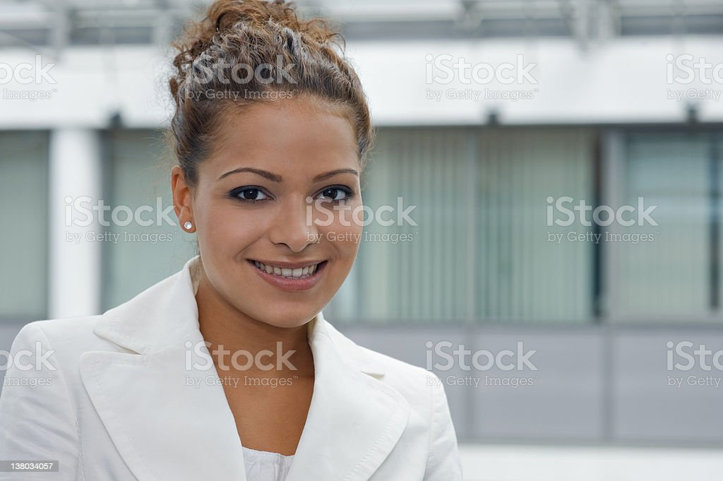 Ethnic Business Woman royalty-free stock photo