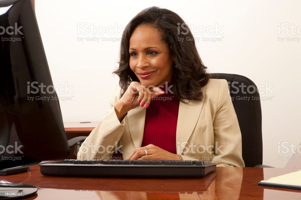 Ethnic Businesswoman royalty-free stock photo