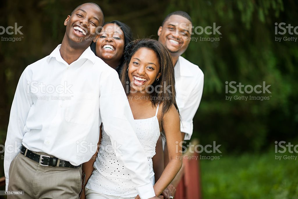 Ethnic Family royalty-free stock photo