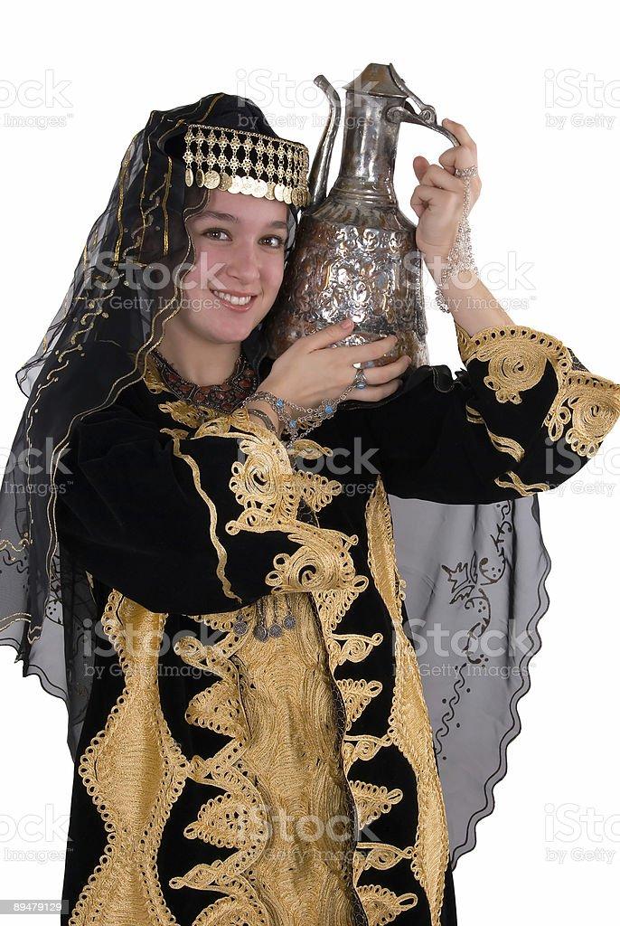 Ethnic Girl royalty-free stock photo