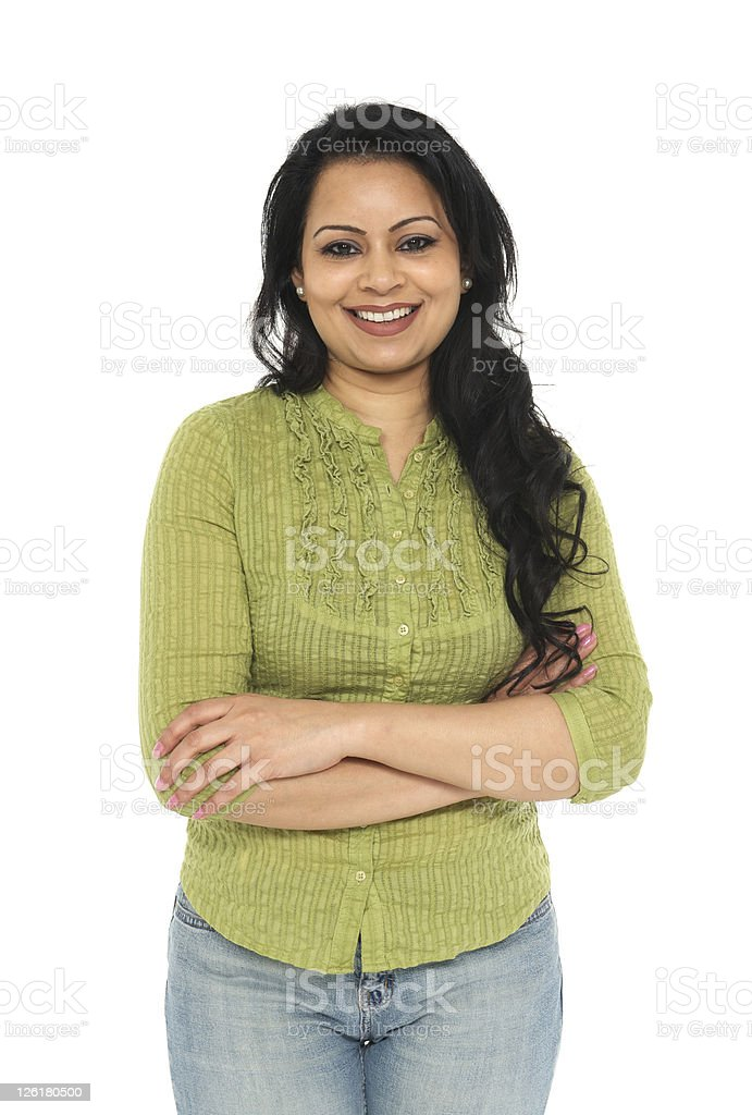 Ethnic Indian Woman royalty-free stock photo