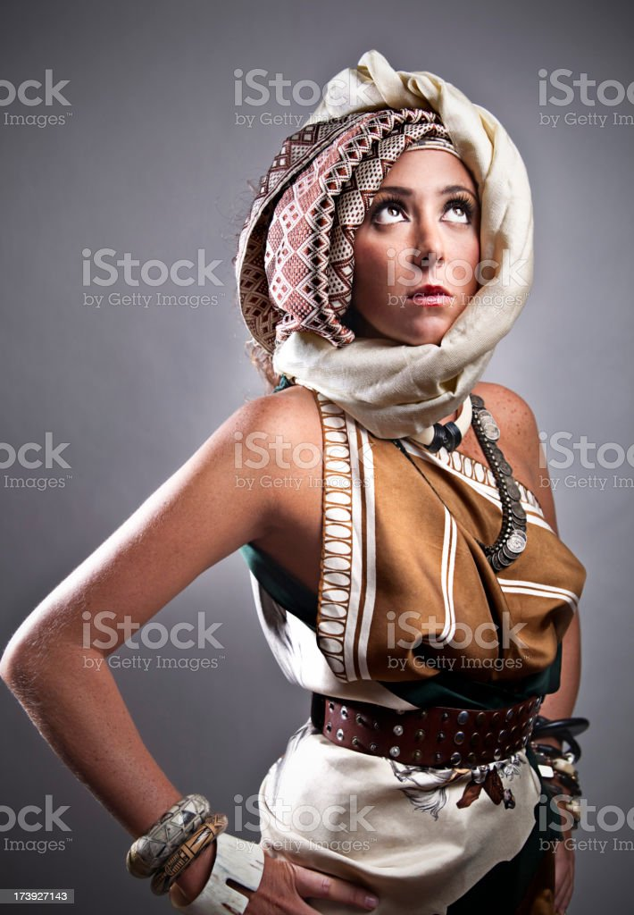 ethnic portrait stock photo