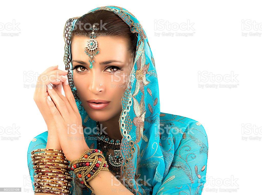 Ethnic Woman stock photo