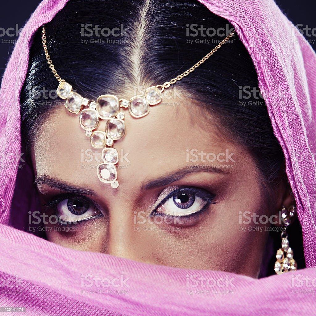 Ethnicities Shoot - Indian stock photo