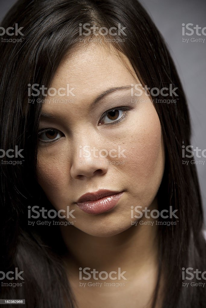 ethnicity and culture portrait series royalty-free stock photo