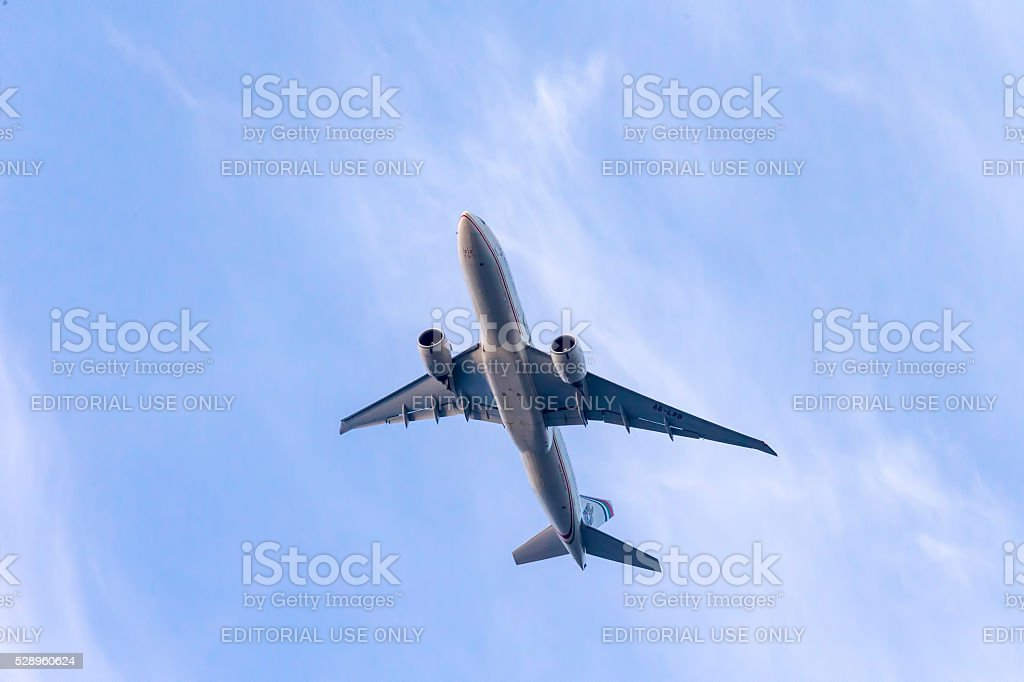 Etihad Airways Airbus stock photo