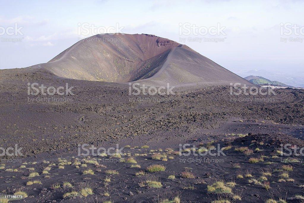 Etna volcano royalty-free stock photo
