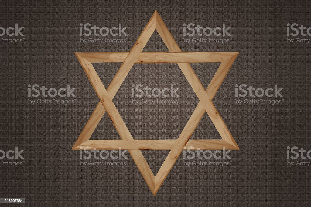 Etoile de David - Judaïsme stock photo
