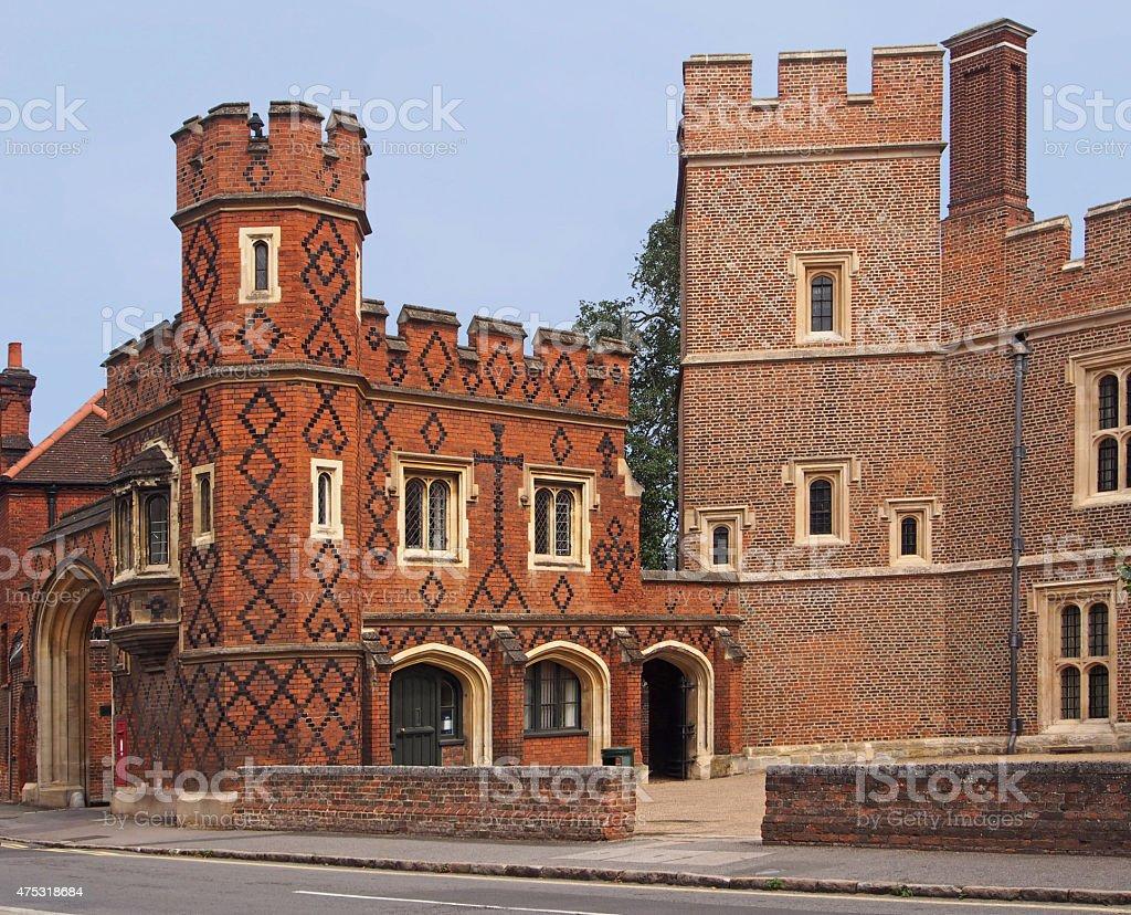 Eton College, England stock photo