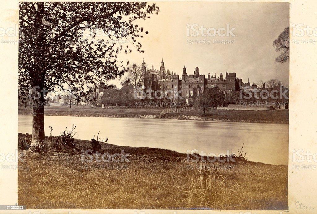 Eton College stock photo