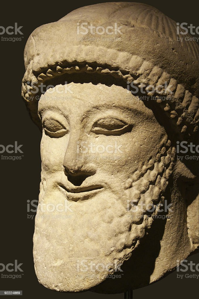 Etruscan art royalty-free stock photo