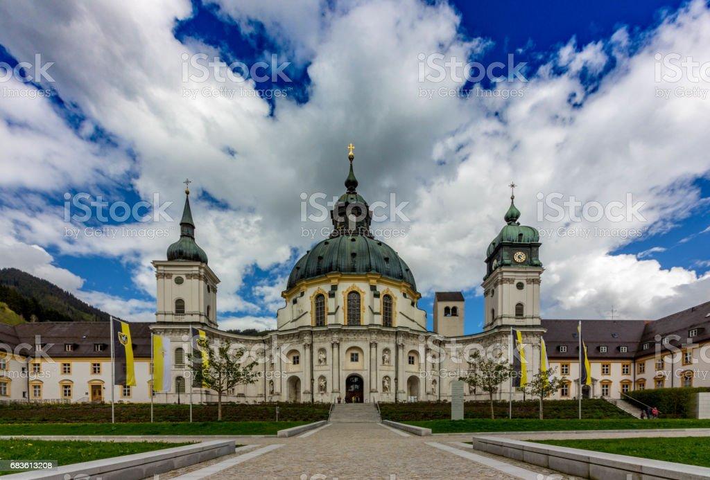 Kloster Ettal stock photo