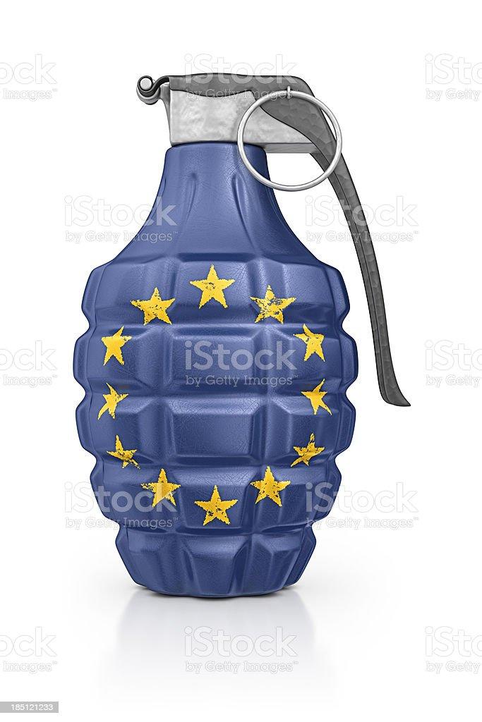 eu grenade royalty-free stock photo